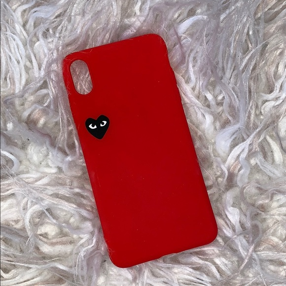 reputable site 177d0 38960 comme des garcons iphone xs max case